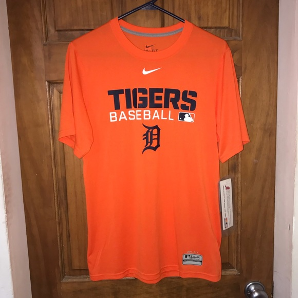 NeW DETROIT TIGERS Nike Dri-Fit Men s Shirt Small 29c3acdc7